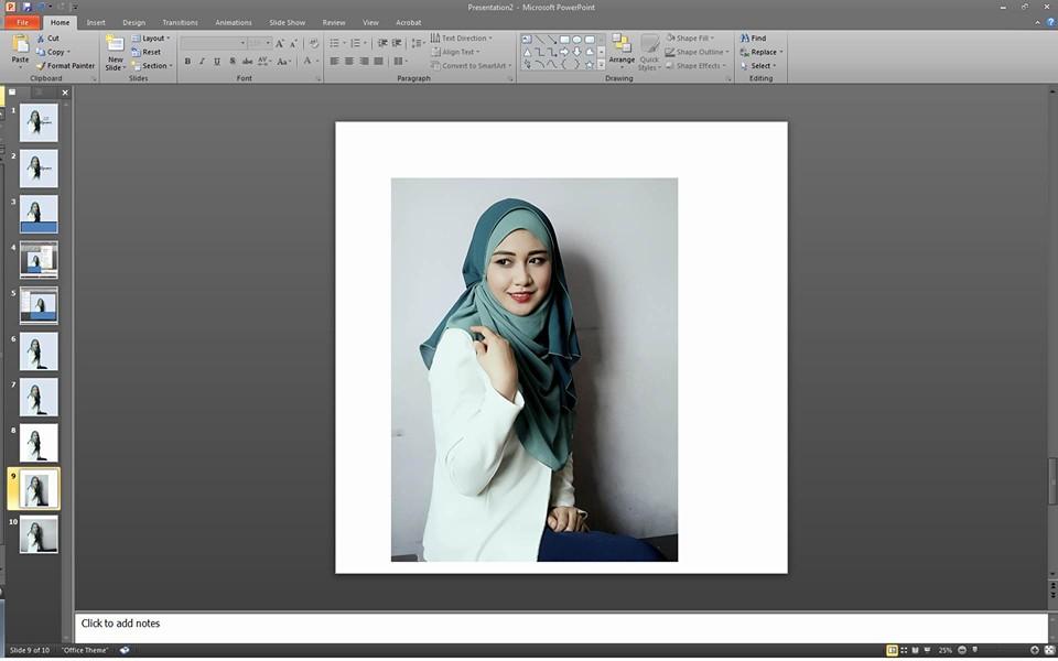 Lelaki Ini Ajar Edit Gambar Guna Power Point Hasilnya Sama Macam Guna Photographer Profesional Remaja