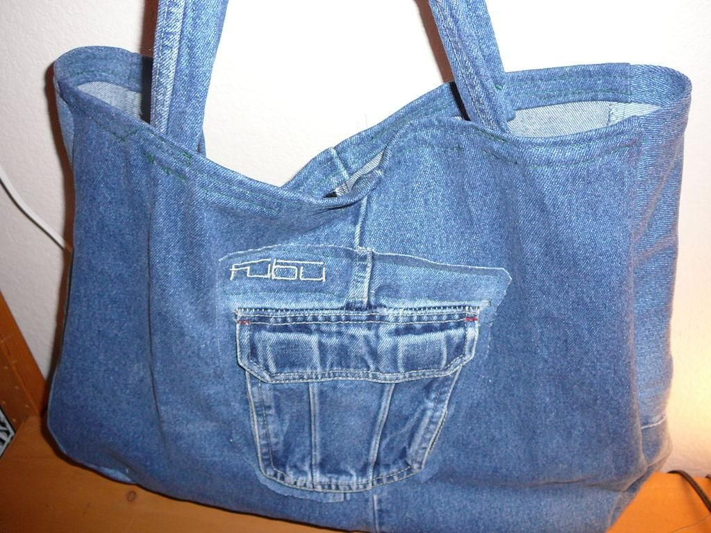 Seronok Recycle Seluar Jean