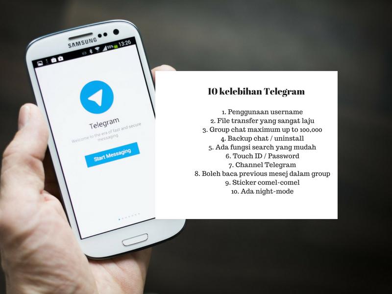 10 Kelebihan TELEGRAM Berbanding WHATSAPP Ramai Tak Tahu