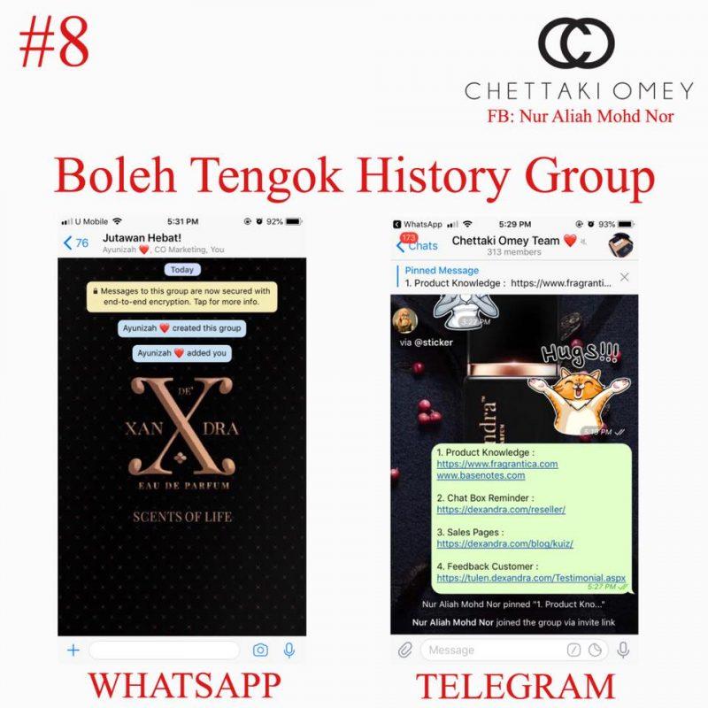 10 Kelebihan TELEGRAM Berbanding WHATSAPP Ramai Tak Tahu, Satu