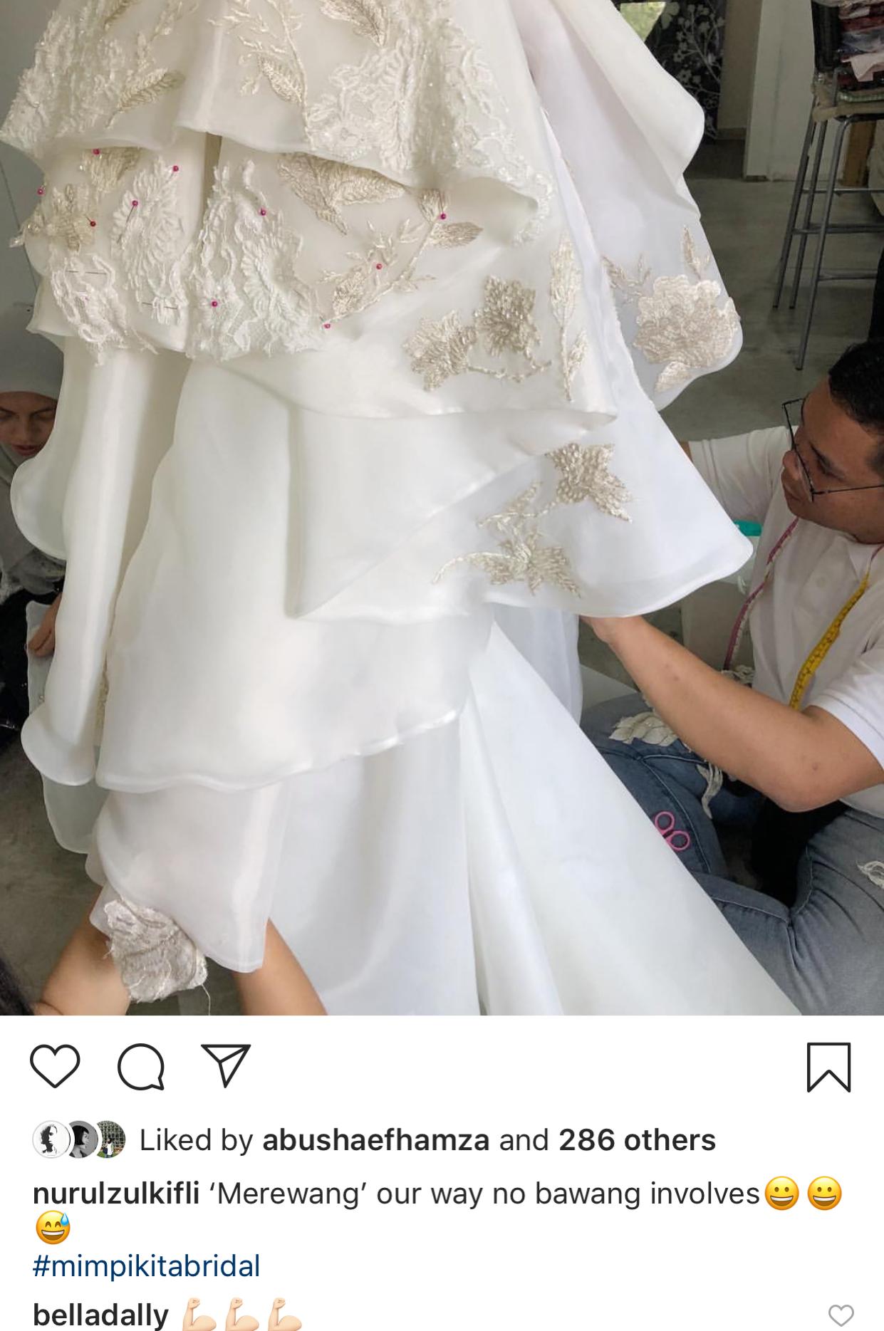 Pelamin, Baju, Pakaian Bridesmaids Cantik! Lihat Details Akad