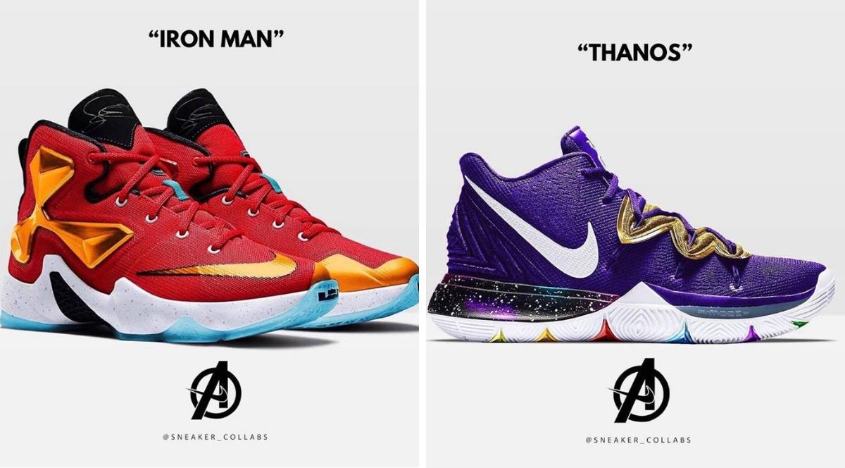 Sneakers Nike X Avengers, Memang Style