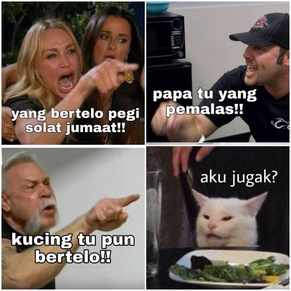 Netizen Malaysia Memang Kreatif Beri Caption Lucu Memes